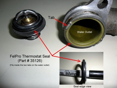 Felpro thermostat seal